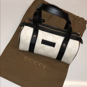 Authentic Mini Size GUCCI Joy Black/White Bag NEW